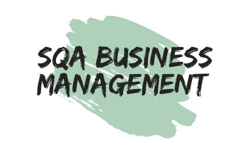SQA Business Management Logo