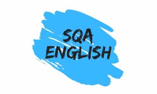 SQA English Logo