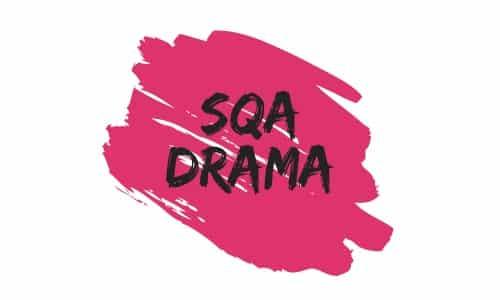 SQA Drama Logo