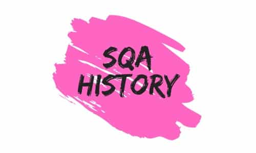 SQA History Logo